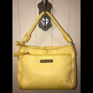Brighton yellow handbag pre carried condition